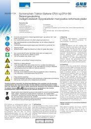 Manual (DK) - Gnb-nordic.com
