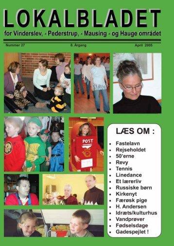 Skabelon til udgaver - Lokalbladet - For Vinderslev-, Pederstrup ...