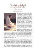 Tavshed og stilhed som teknik (PDF) - Holisticure - Page 3