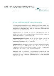nyt fra realkreditforeningen nr. 5 - maj 2010 som pdf