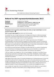 Referat - Dansk Orienterings-Forbund