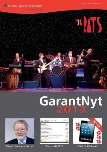 GarantNyt marts 2013 - Dronninglund Sparekasse