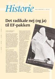 4 HISTORIE 2003 - Radikale Venstre