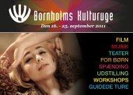 Velkommen til Bornholms Kulturuge 2011 - Destination Bornholm