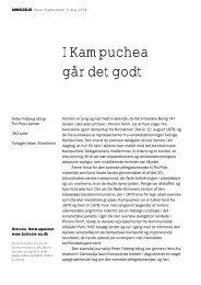 I Kampuchea går det godt - Historie-nu.dk