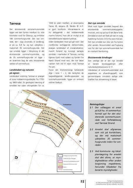 Forslag til landsplandirektiv for 200 sommerhusgrunde i ...