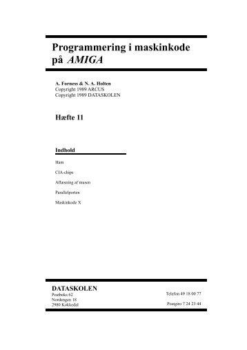 Maskinkode Brev 11 - palbo.dk