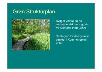 Grøn Strukturplan - Bygningskultur 2015