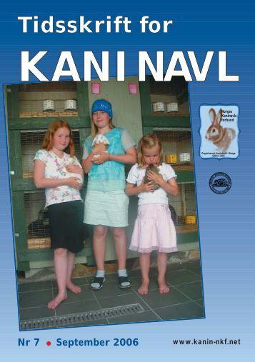 Tidsskrift for KANINAVL - Norges Kaninavlsforbund