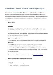 Handleplan for arbejdet med Mad, Måltider og ... - Stenderup Skole