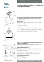 stillingsregulator - Pentair Valves & Controls