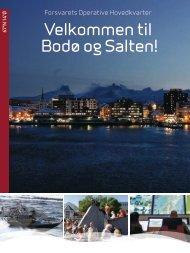 Velkommen til Bodø og Salten!