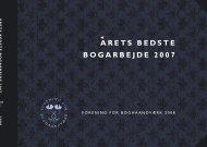 aretsbe ds tebogarbejde 2 0 0 7 - Forening for Boghaandværk