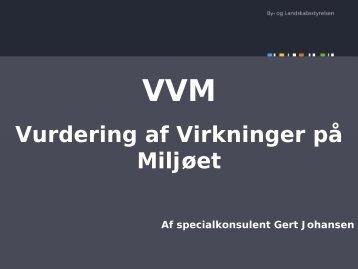 Gert Johansen - VVM 08