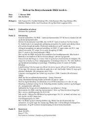 Referat fra Bestyrelsesmøde DKK kreds 6