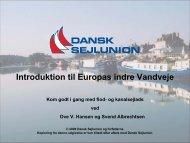 Introduktion til Europas Indre Vandveje - Danske Bådejere