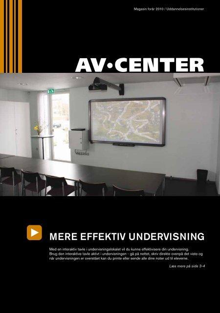 MERE EFFEKTIV UNDERVISNING - Av Center