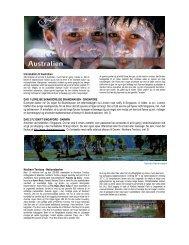 Introduktion til Australien DAG 1 UDREJSE ... - Exotic Travel