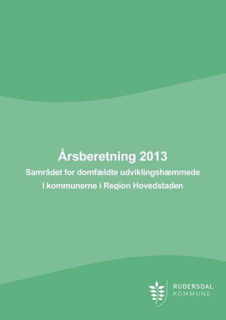 Bilag 7 - Årsberetning 2013 - Københavns Kommune
