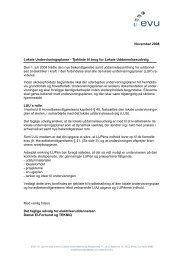 Tjekliste til brug for Lokale Uddannelsesudvalg - EVU