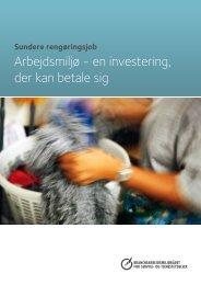Arbejdsmiljø - en investering, der kan betale sig - BAR - service og ...