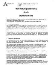 Benutzungsordnung - Amelinghausen