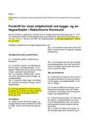 Bilag 1: Forskrift udgave 22-05-12 - Københavns Kommune