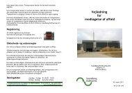 Vejledning for modtagelse af affald - Velkommen til Svendborg ...