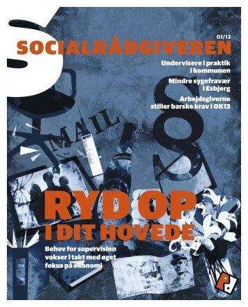 Socialrådgiveren nr. 1-2013 - Dansk Socialrådgiverforening