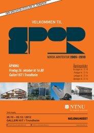 Invitasjon med åpningstider (.pdf) - NTNU