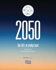 2050 - Der bli'r et yndigt land - Realdania Debat