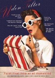 UDEN FILTER NR. 2 – 2011 – Et nyt E
