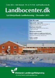 December 2011 - Landbocenter