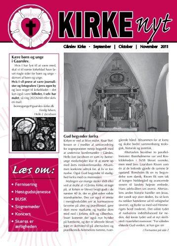 Læs om: KIRKEnyt - Gårslev Kirke
