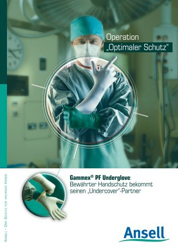 Gammex® PF Underglove - Ansell Healthcare Europe