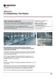FJ Industries, Ferritslev - Constructor Danmark A/S