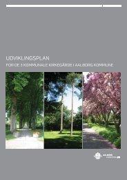 udviklingsplan for de 3 kommunale kirkegårde A4 hjemmeside