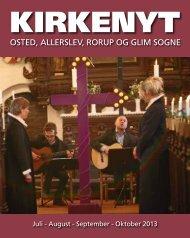 Kirkenyt 2013 - Rorup & Glim kirkers hjemmeside