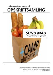 OPSKRIFTSAMLING - +Camp