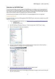Ontsluiten van SAP BPM Taken - VNSG