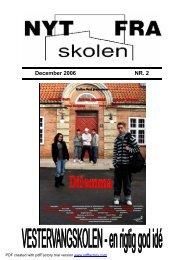 skoleblad nr 2 06-07.pub - Glostrup Skole