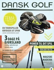 Se eller download bladet her (18MB) - Norddjurs Golfklub