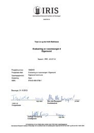 Evaluering av rusomsorgen i Eigersund - IRIS