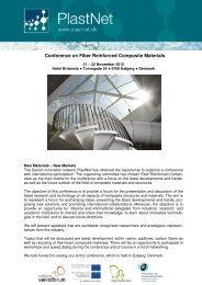 Conference on Fiber Reinforced Composite Materials - PlastNet