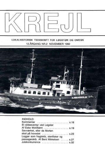 12. årgang nr. 2 - Lokalhistorisk Arkiv for Løgstør Kommune