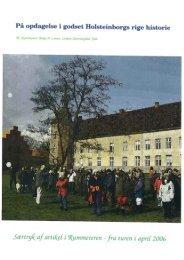 Holsteinborg Gods - Skovhistorisk Selskab