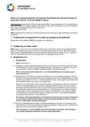 Referat fra bestyrelsesmøde i Firmaidræt StorKøbenhavn afholdt ...