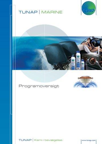 TUNAP | MARINE Programoversigt