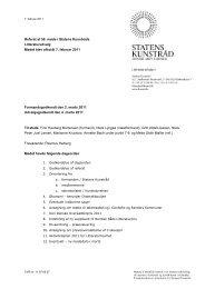 Referat af 56. udvalgsmøde - Kunst.dk