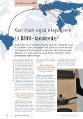 Kan man også eksportere til BRIK-landende? Den ... - Forside - Page 4